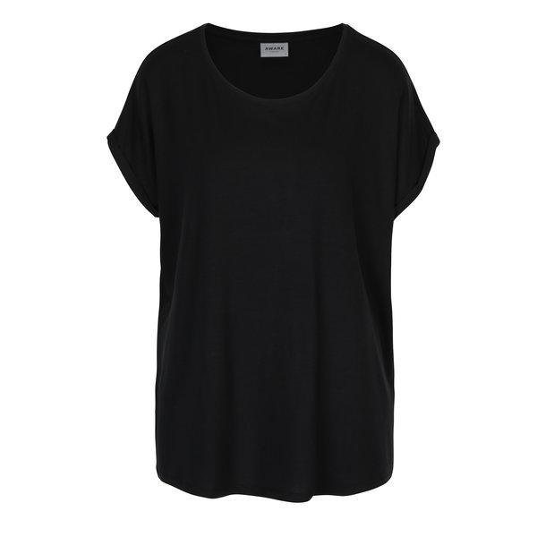 Tricou basic negru VERO MODA Ava