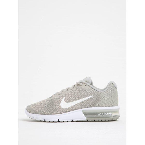Pantofi sport gri cu roz de alergat pentru femei Nike Air Max Sequent