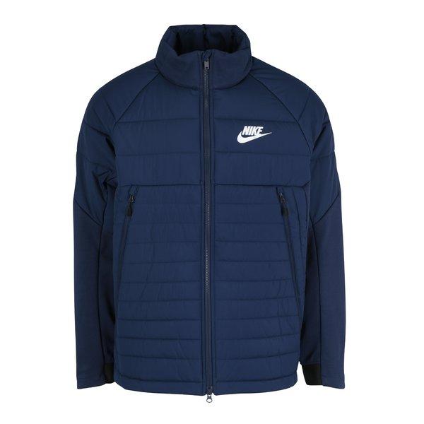 Geacă albastră matlasată pentru toamnă/iarnă pentru bărbați Nike Sportswear Fill