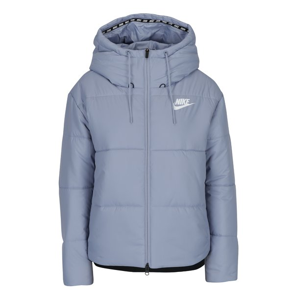 Geacă matlasată albastru deschis pentru femei Nike Sportswear Fill