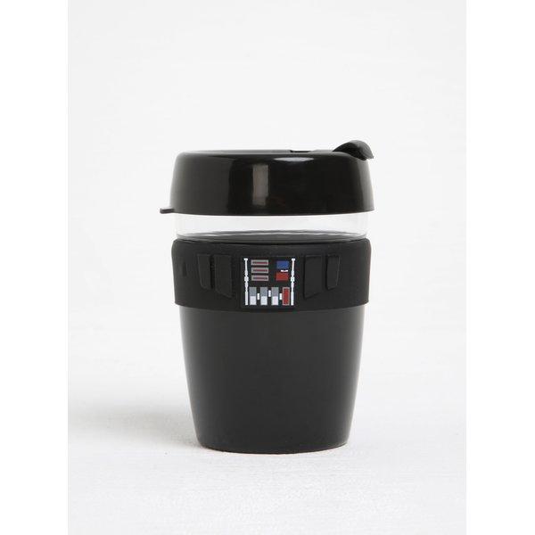 Cană neagră de călătorie cu tematica Star Wars KeepCup Darth Vader Longplay Medium