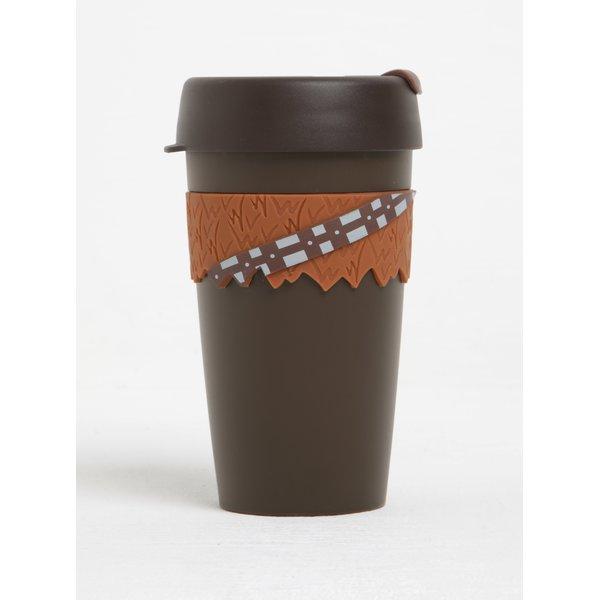 Cană maro de călătorie cu tematică Star Wars KeepCup Chewbacca Original Large