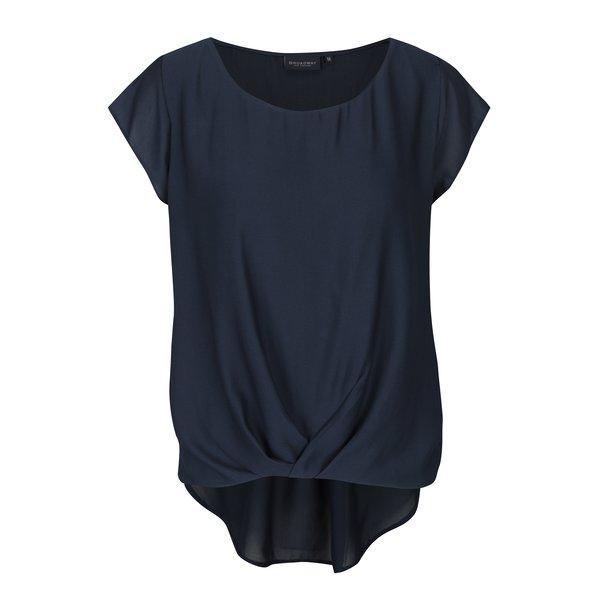 bluza bleumarin asimetrica Broadway Mansi