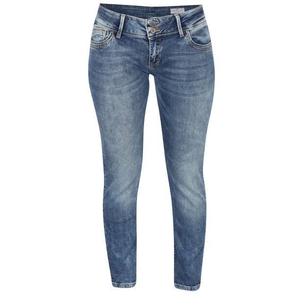 Blugi skinny albaștri pentru femei Cross Jeans