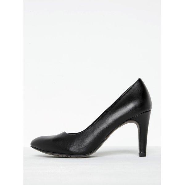 Pantofi negri clasici cu toc stiletto