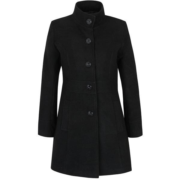 Palton negru cu buzunare -ZOOT