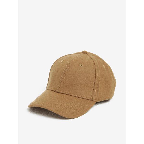 Șapcă bej din amestec de lână Selected Homme Porter