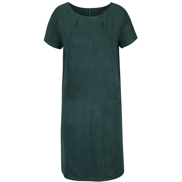 Rochie verde cu mânecă scurtă Smashed Lemon