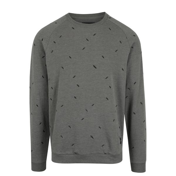 Pulover gri cu broderie ONLY & SONS Chester