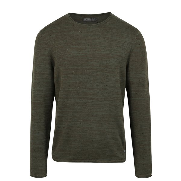 Pulover verde închis Jack & Jones Wills