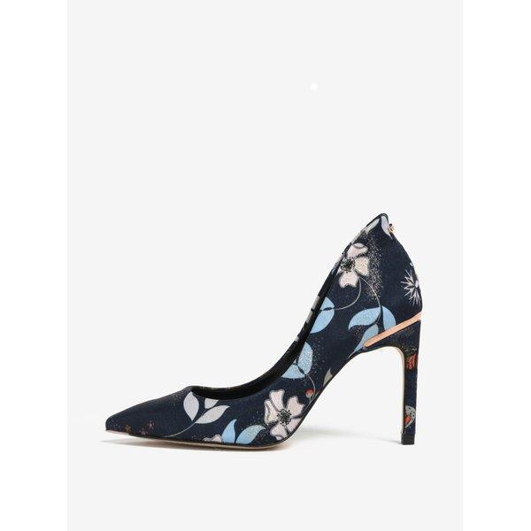 Pantofi bleumarin cu toc cui și vârf ascuțit- Ted Baker Saviop