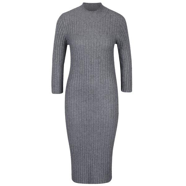 Rochie - pulover gri VERO MODA Ava