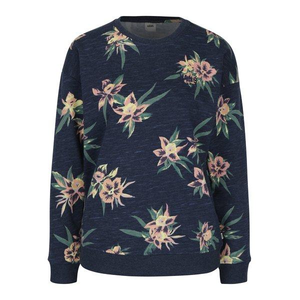 Bluză bleumarin cu print floral pentru femei - VANS Tango