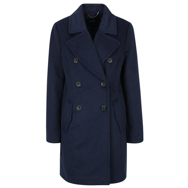 Palton bleumarin de iarnă VERO MODA Pisa