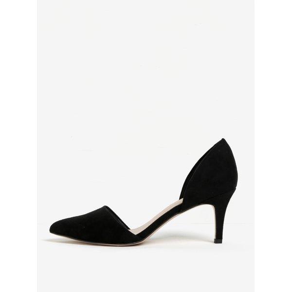 Pantofi negri cu vârf ascuțit și toc subțire - Miss KG Celina