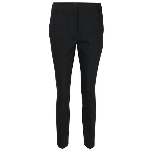 Pantaloni negri cu talie înaltă VERO MODA Luis