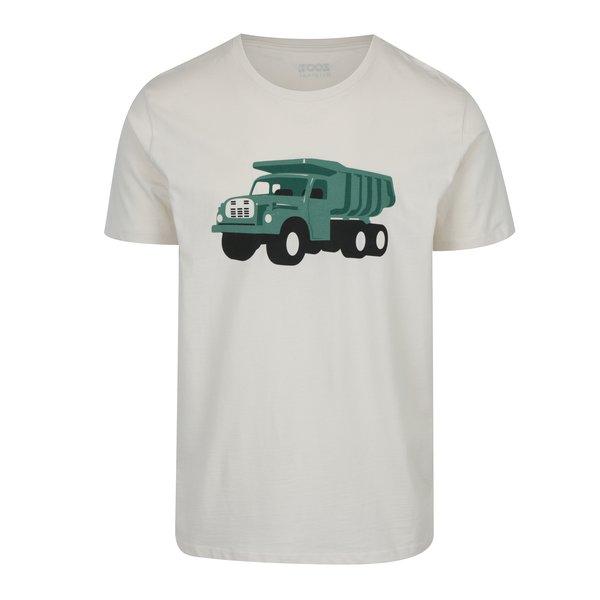 Tricou crem cu print pentru barbati ZOOT Original Tatra