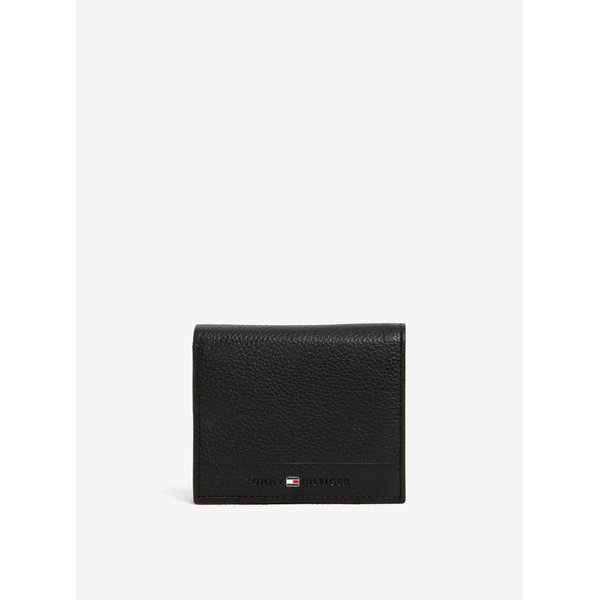 Portofel negru din piele pentru bărbați Tommy Hilfiger Core