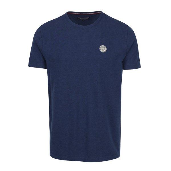 Tricou bleumarin pentru bărbați Tommy Hilfiger Pando