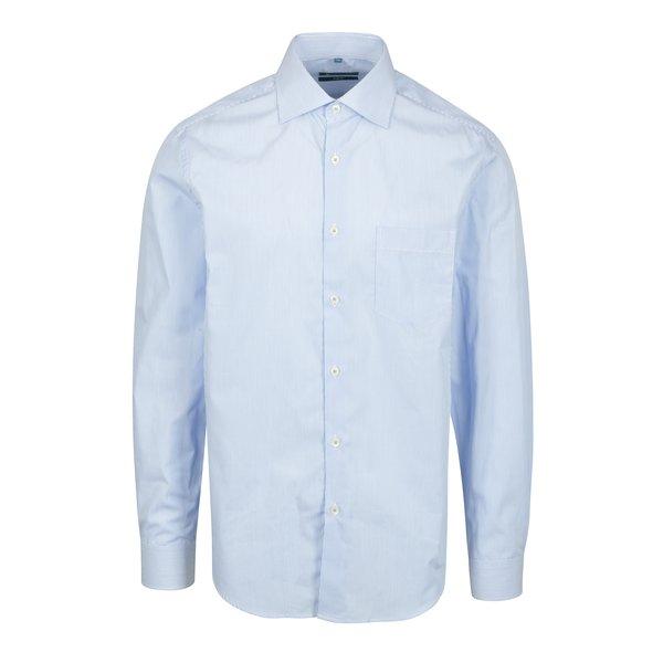 Camasa slim fit alb&albastru in dungi Braiconf Flaviu