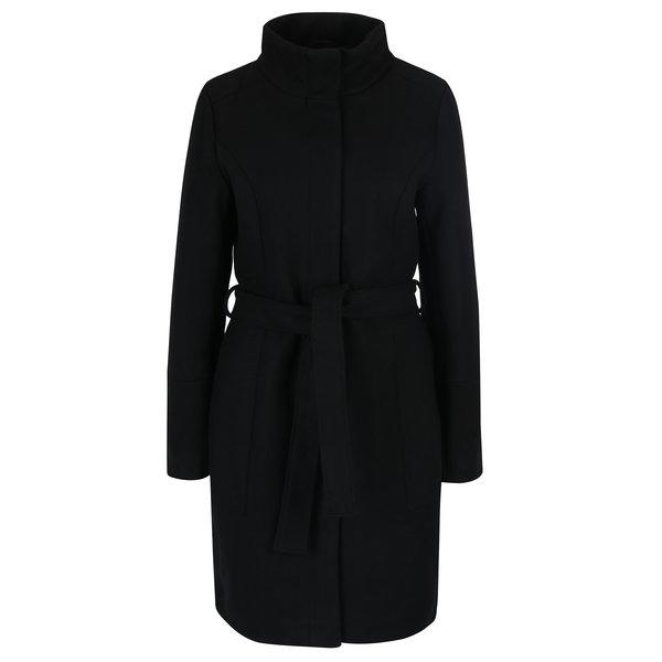Imagine indisponibila pentru Palton negru din amestec de lana VILA Bee