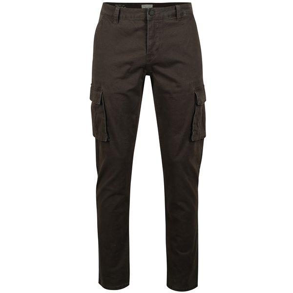 Pantaloni cargo gri inchis cu buzunare aplicate - ONLY & SONS Kornelius