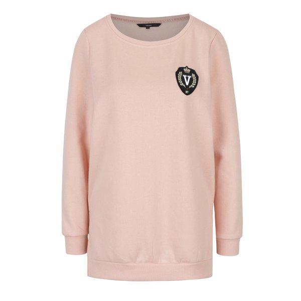 Bluza roz pal cu broderie VERO MODA Isabella