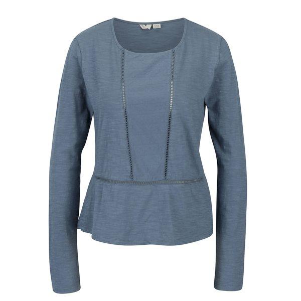 Bluza albastra cu detalii perforate - Roxy We Make Together