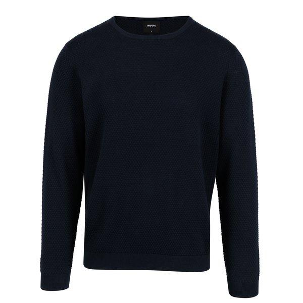 Pulover bleumarin din bumbac pentru barbati – Burton Menswear London
