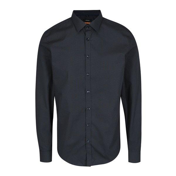 Camasa slim fit bleumarin pentru barbati - Seidensticker