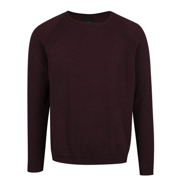 Pulover bordo pentru barbati – Burton Menswear London