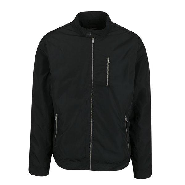 Jacheta neagra cu buzunare – Burton Menswear London