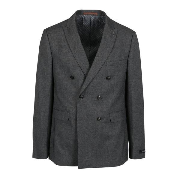 Sacou slim fit gri pentru barbati - Menswear London