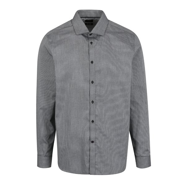 Camasa gri slim fit - Burton Menswear London