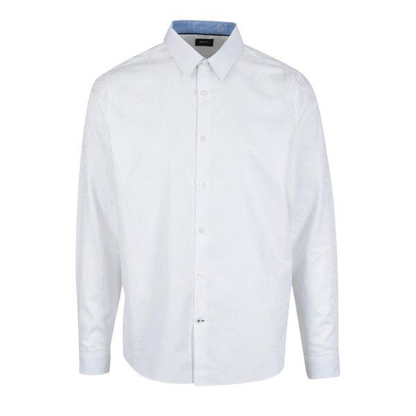 Camasa alba cu model paisley pentru barbati – Burton Menswear London