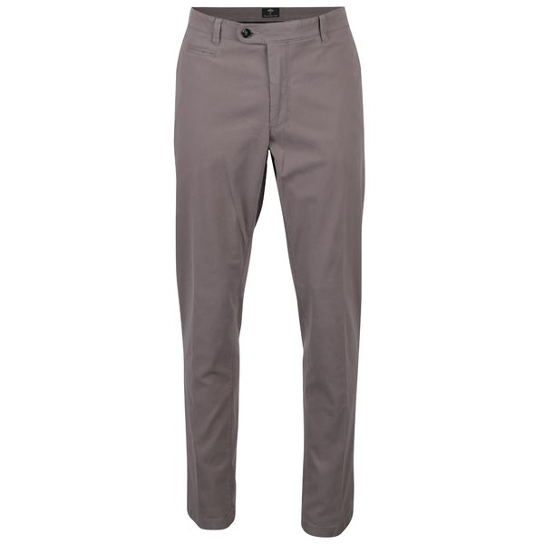 Pantaloni chino gri cu buzunare - Fynch-Hatton