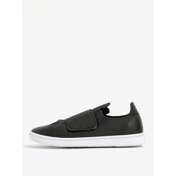 Pantofi negri sport din piele pentru femei -- Woden Jane II V