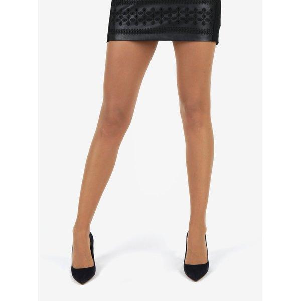 Dres mat de culoarea pielii cu varf si calcai intarit - Bellinda Absolut Resist Pantyhose 15 DEN
