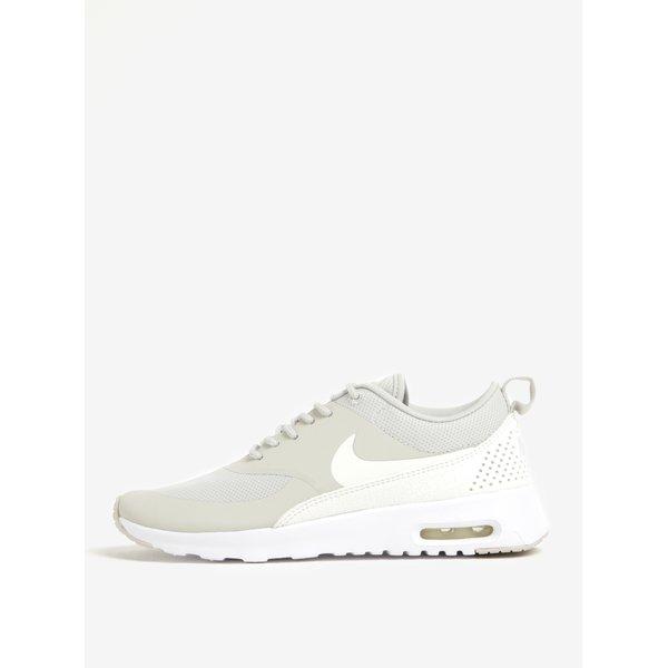 Pantofi sport gri&alb pentru femei Nike Air Max Thea