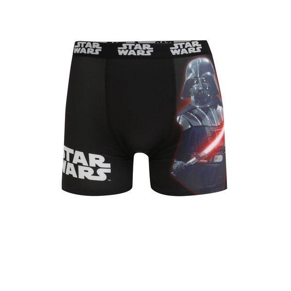 Boxeri negru & bleumarin cu print pentru barbati Star Wars