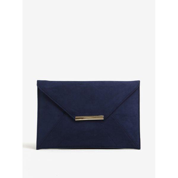 Geanta plic bleumarin cu detalii aurii - Dorothy Perkins