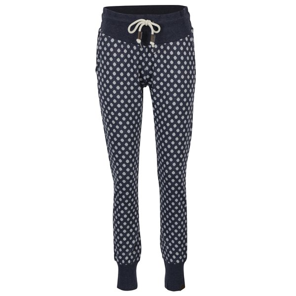 Pantaloni sport albastru & alb cu print buline - Ragwear Chester B