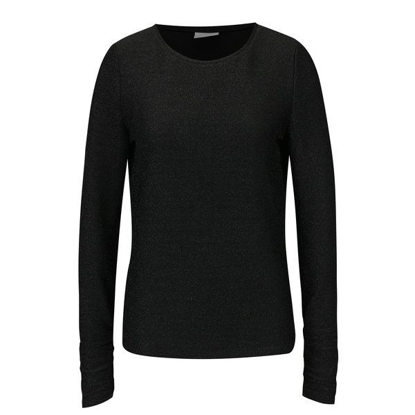 Bluza neagra cu fire metalice VILA Clima