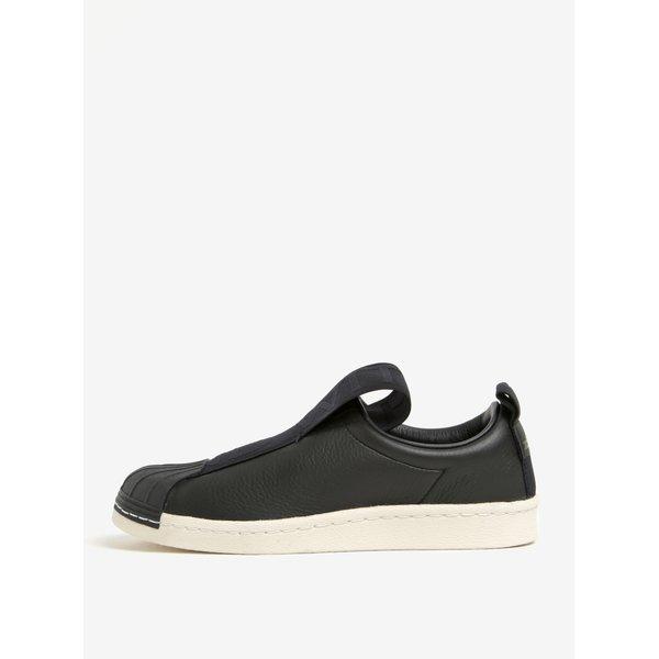 Pantofi sport negri slip on pentru femei adidas Originals Superstar