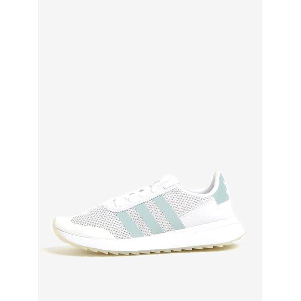 Pantofi sport albi pentru femei adidas Originals FLB