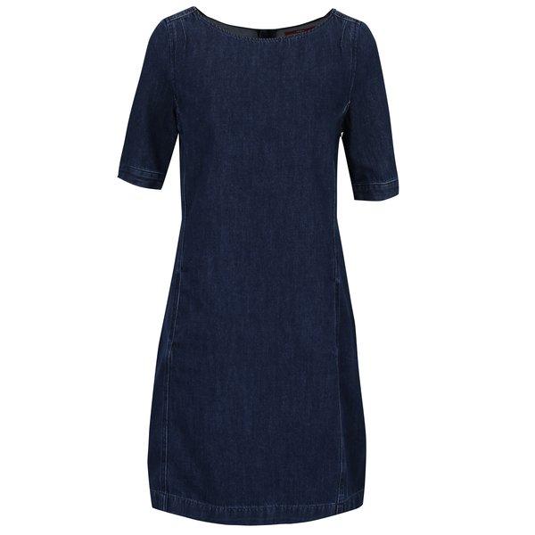 Rochie din denim albastru inchis cu buzunare s.Oliver