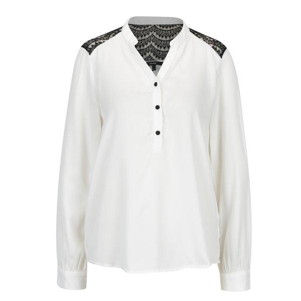 Bluza alba cu detalii din dantela - VERO MODA Sharpa
