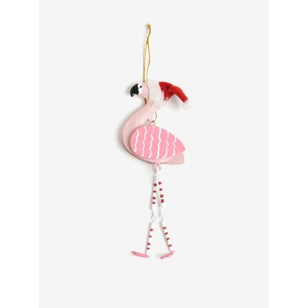 Decoratiune sub forma de flamingo – Sass & Belle Festive Flamingo