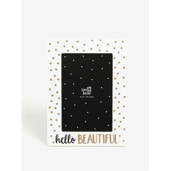 Rama foto cu print - Sass & Belle Hello Beautiful