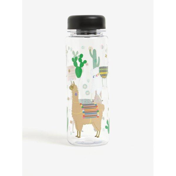 Sticla de apa fara BPA cu print mexican – Sass & Belle Lima Llama